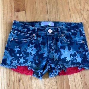 Stars jean shorts